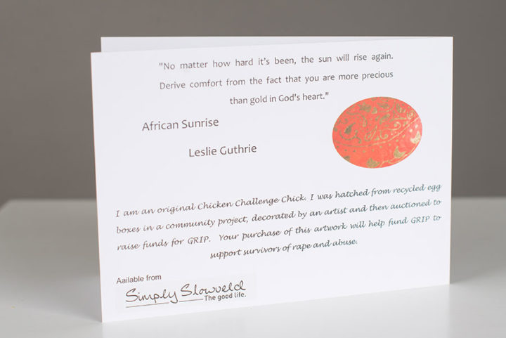 Chicken Challenge Card Simply Slowveld Casterbridge Lifestyle Centre White River Mpumalanga South Africa