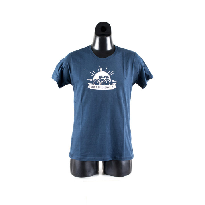 Cycle the Slowveld Graphic Tee Simply Slowveld White River