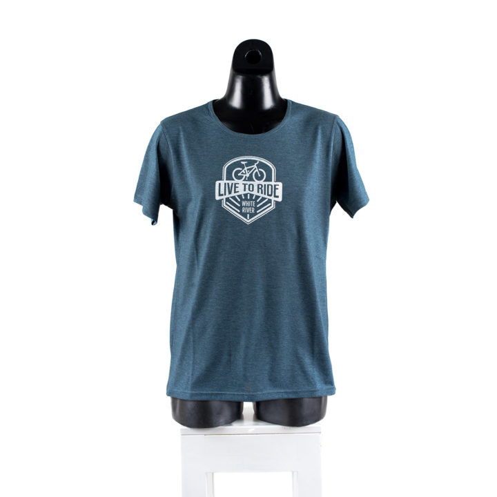 Live to Ride White River Graphic Tee Simply Slowveld White River South Africa