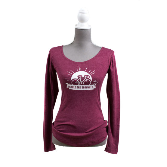 Cycle the Slowveld Design Womens Long Sleeve Simply Slowveld White River South Africa
